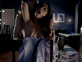 Мирта Мишель голая - Роковые красотки s02e05 (2012)