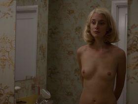 Кэйтлин Фицджералд голая, Бетси Брандт голая - Мастера секса s02e12 (2014)