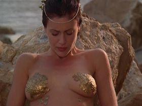 Алисса Милано секси - Зачарованные s05e01-02 (2002)
