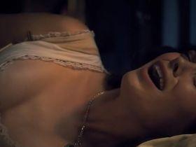 Катя Винтер секси - Сонная Лощина s02e06 (2014)