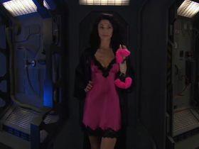 Клаудия Блэк секси - Научная фантастика изнутри: Звёздные врата: ЗВ-1 – 200-ый эпизод s10e20 (2006)