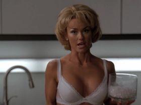 Келли Карлсон секси, Джессика Коллинз секси - Части тела s06e08 (2010) #7