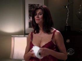 Дженнифер Бини Тейлор секси - Два с половиной человека s06e08 (2008) #8
