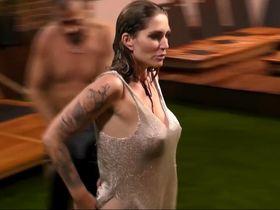 Мило Муаре голая, Сара Керн голая - Promi Big Brother (2017) #12