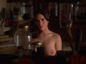 Дженнифер Коннелли голая — Выдуманная жизнь Эбботов (1997)