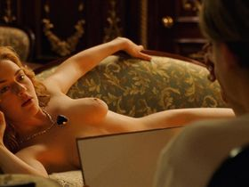 Кейт Уинслет голая — Титаник (1997)